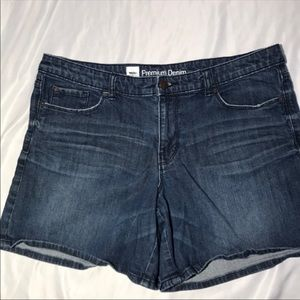Mossimo Medium Jean Shorts